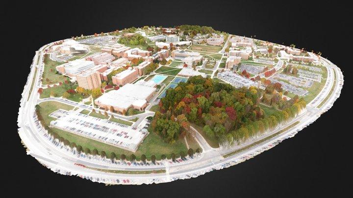 UMBC Campus 3D Model