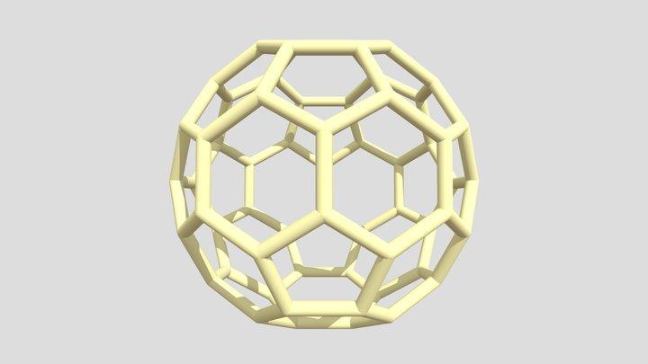 Fullerene C60 3D Model