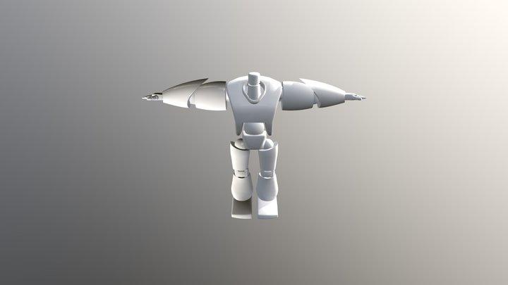 Robot Enemy 3D Model