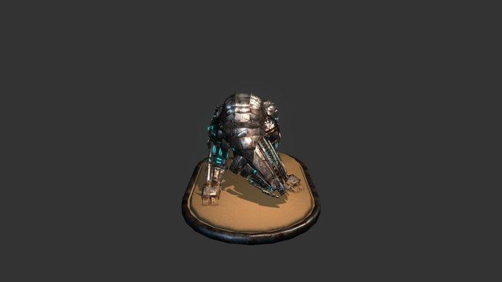 Mechanical Beast 3D Model