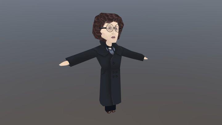 Withnail and I - Paul McGann 3D Model