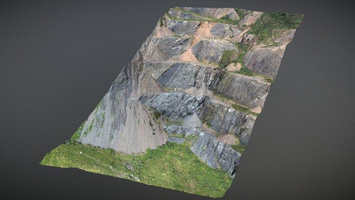 Red Rocks Quary 3D Model