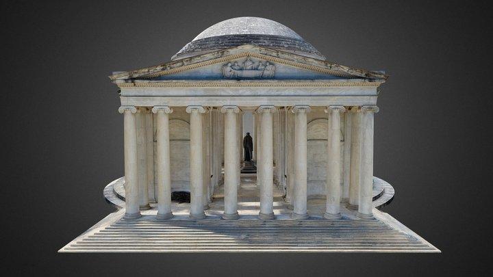 Thomas Jefferson Memorial, USA 3D Model