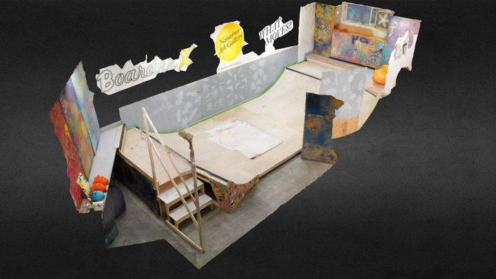 Nanaimo Art Gallery: Updated Mini-Skatepark 3D Model