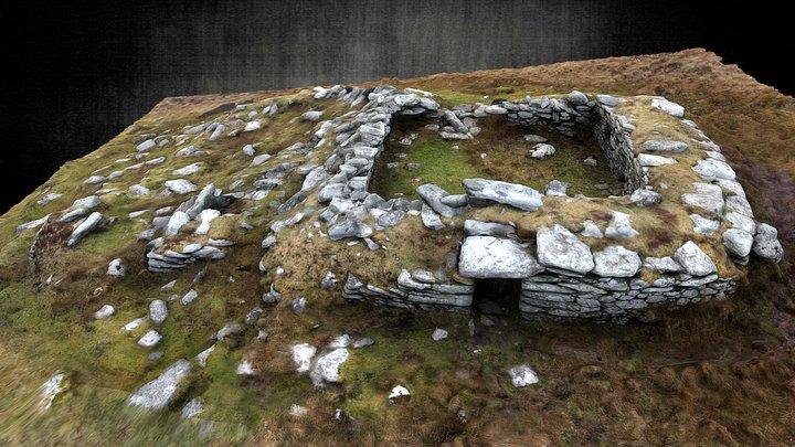 Early Medieval Clochaun 3D Model