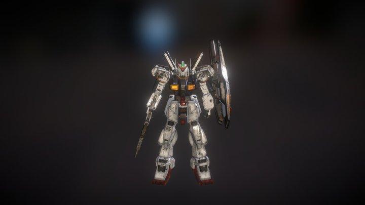 Gundam RX 178 MK II 3D Model
