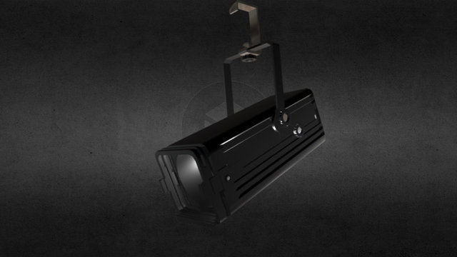 Stage Light Zoom Spot 3D Model
