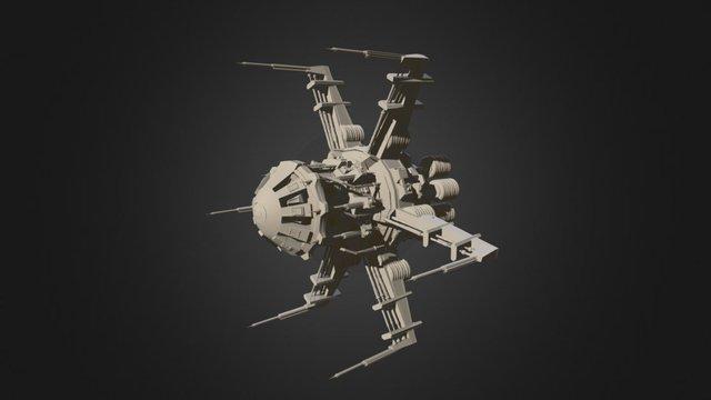 00RXT Escape Pod 3D Model