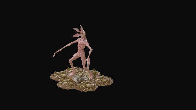 Demogorgon 3D Model