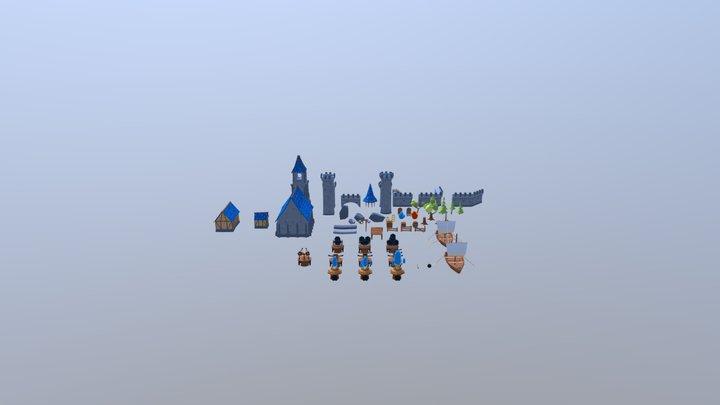 Tower Defense Kit 3D Model