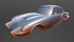 3D Scan Classic Car - Sabra 3D Model