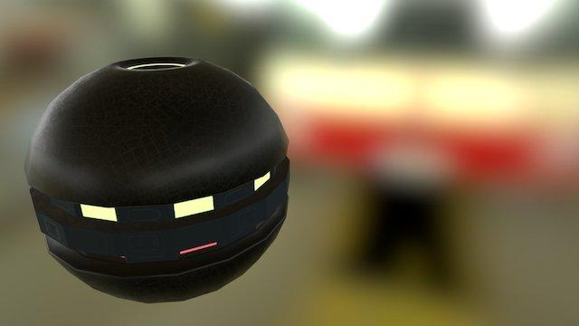 Grenade 2 3D Model