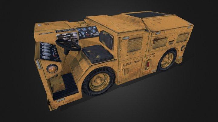 EPU Tractor 3D Model