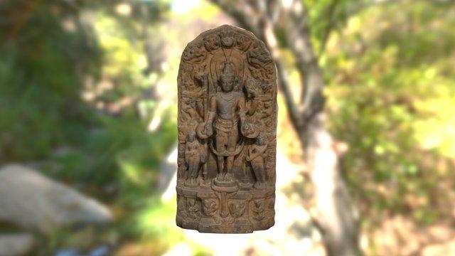 Statue of Vishnu - Art2907 3D Model