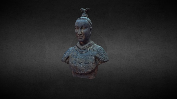 ANTIQUE SHOP SAMURAI 3D Model