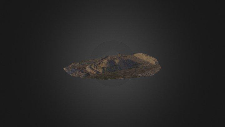 Mining Stockpile from UAV 3D Model