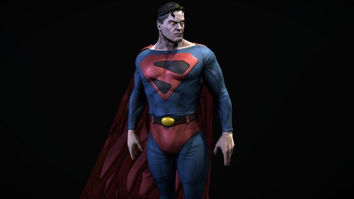 Kingdom Come Superman 3D Model