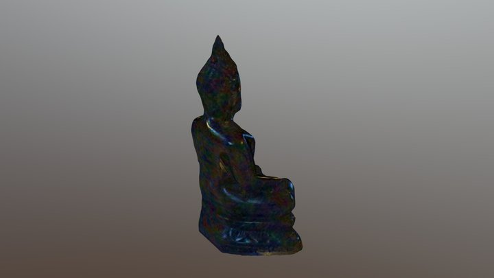 Little Buddha 3D Model