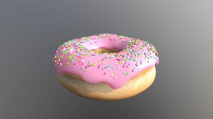 Donut 2.0 3D Model