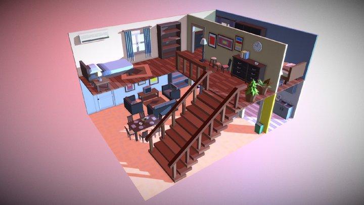 Simpoly_Room_#2 3D Model