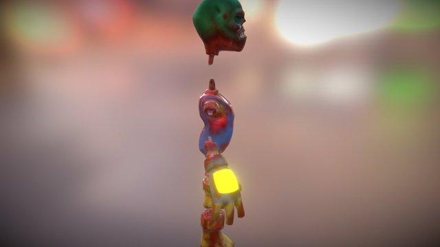 Zombie - Engineering Horde - Gibs 3D Model