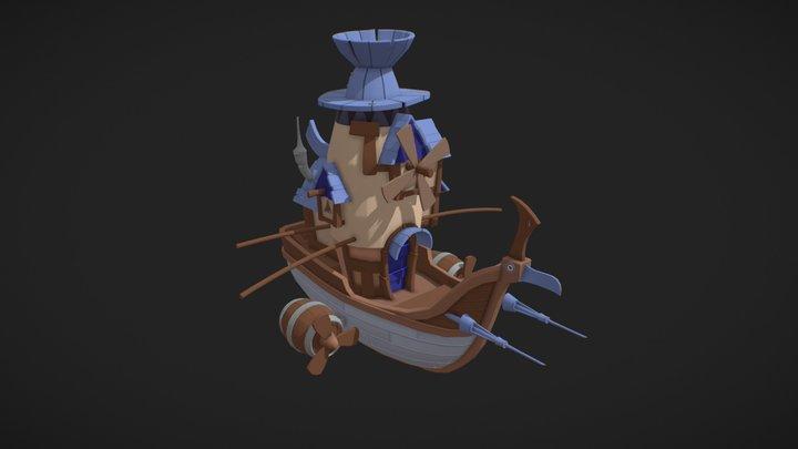 Boat | Detailed Draft 3 3D Model