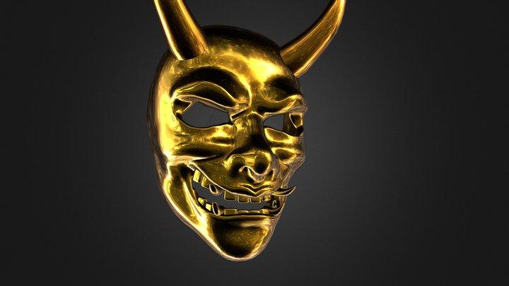 Oni Mask 3D Model
