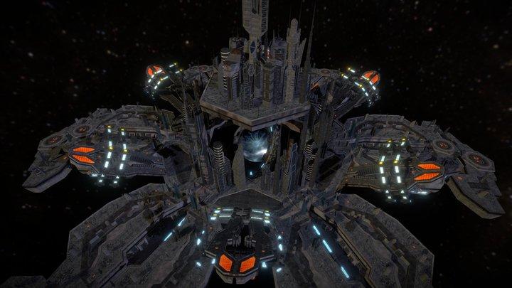 Asuran Neaknadon City 3D Model