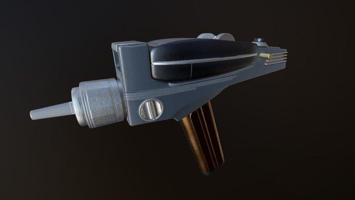 StarTrek TOS Phaser 3D Model