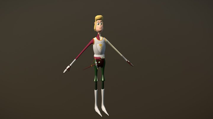 "Georges from : ""La Ballade de Georges"" 3D Model"