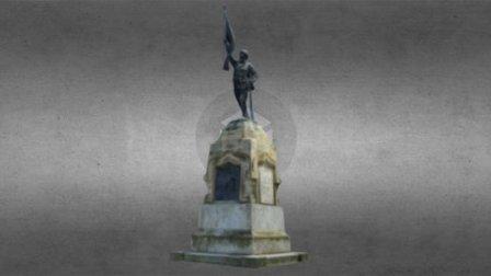 Monumentul Eroilor 1900 - prezent 3D Model