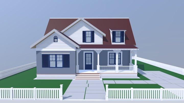 NEOarch Cottage SB 002 3D Model
