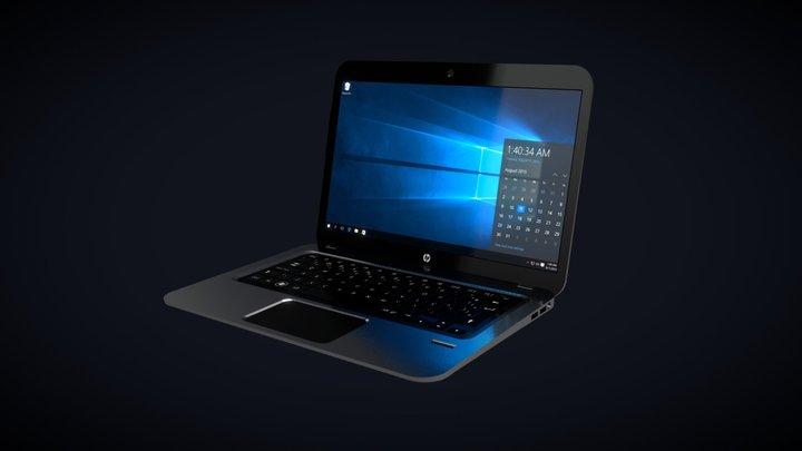 HP Pavilion Laptop 3D Model