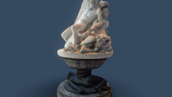 The Fallen Angels 3D Model