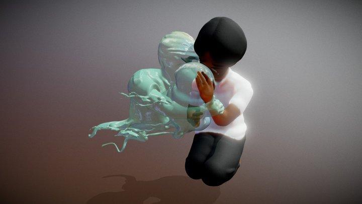 Day 21 of #SculptJanuary19: Pressure 3D Model