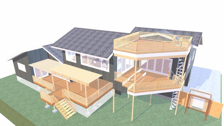 E-2 Busley Room Add PLAN 2 3D Model