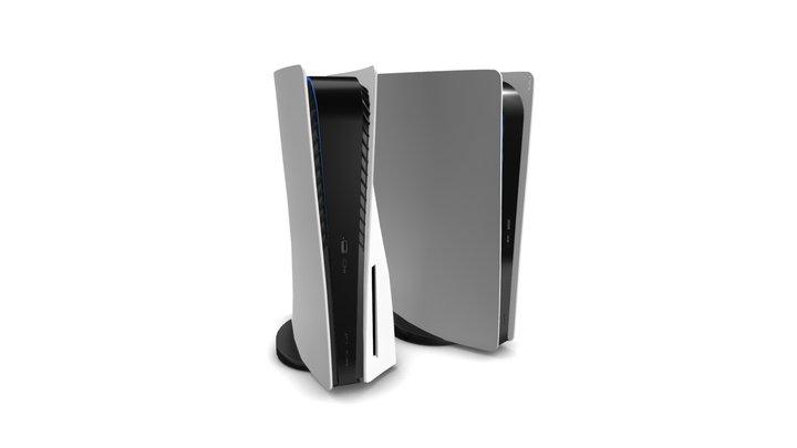 PlayStation 5 3D Model