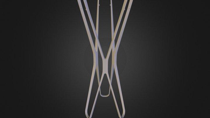 Free 3d model: Saturn Coat Stand 3ds 3D Model