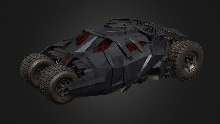 Bat_Mobile 3D Model