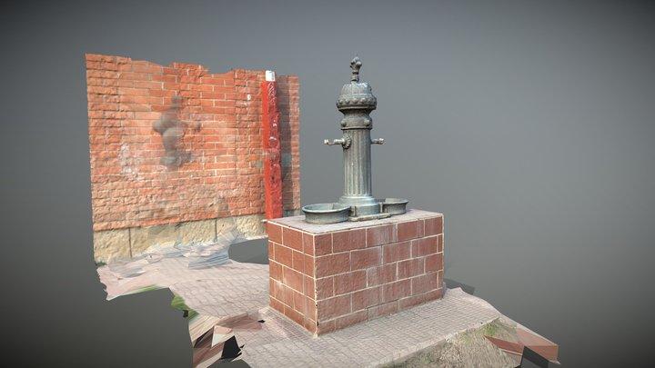 Font Institut Mercè Rodoreda 3D Model