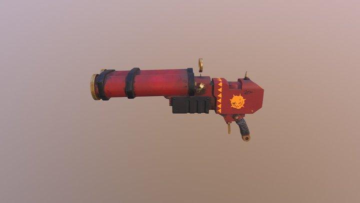 40k Ork Break Barrel Slugga/Shoota_Evil_Sunz 3D Model