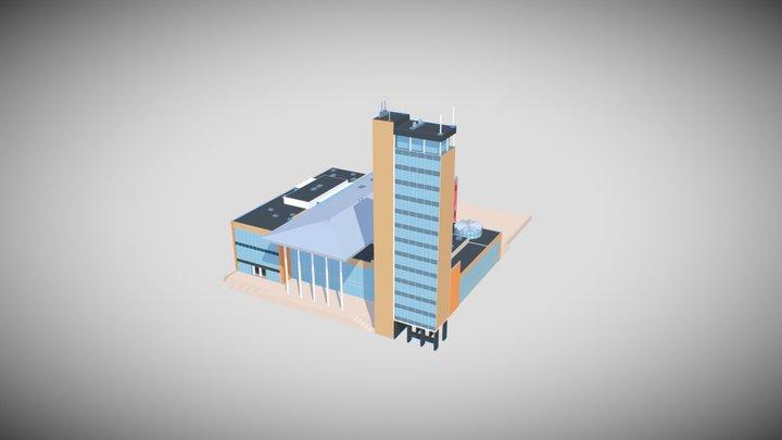 Haus der Kultur und Bildung - Neubrandenburg 3D Model