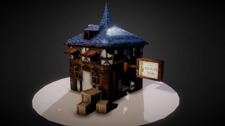 Medieval House Update 3D Model