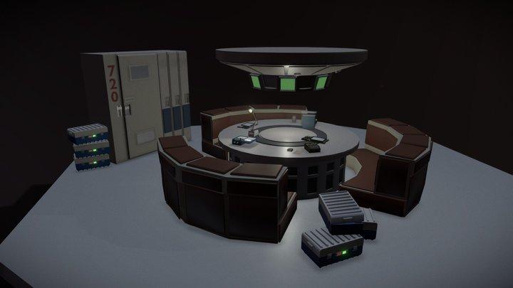 XYZ_Alien_Draft 3D Model