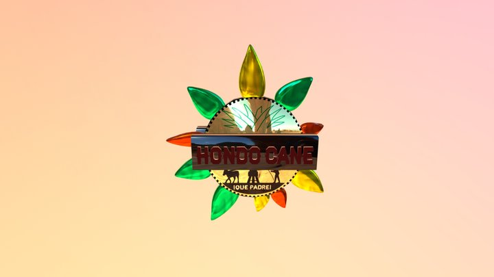 Logo Hondocane 3D Model