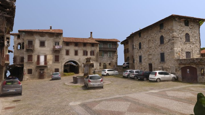 Piazza di Ogna 3D Model