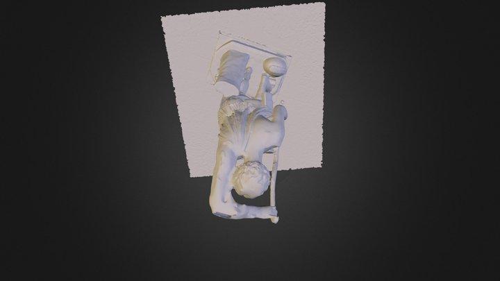 Amazon_Mattei_cast_Basel.obj 3D Model
