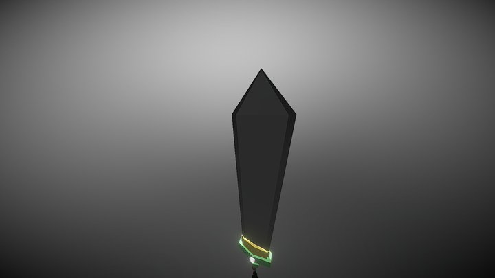 Simple Sword 1 3D Model
