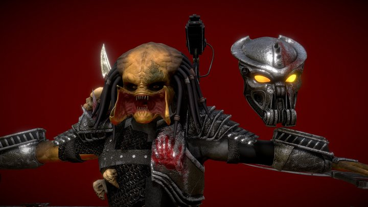 Scarface Predator 3D Model