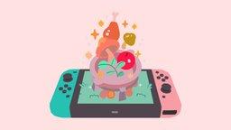 Breath of the Wild - Nintendo Switch 3D Model